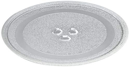 Universal Mikrowelle-Drehteller-Glasplatte mit 3Fixierern, 245mm