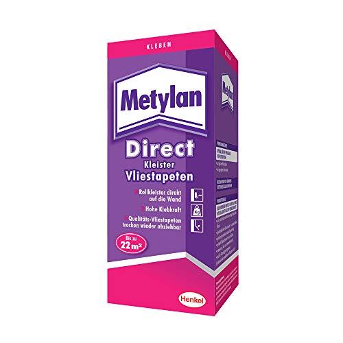Metylan Direct Vliestapetenkleister, hochwertiger Kleister für den direkten Auftrag auf die Wand,...
