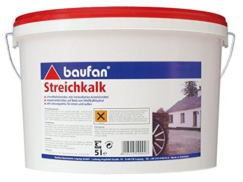 Baufan 100028 Streichkalk, Weiß