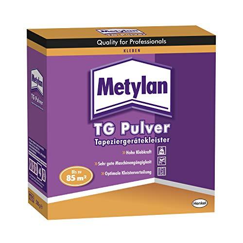 Metylan TG Power Granulat Tapetenkleister, Kleister für Raufaser- und Vliestapeten mit glattem...