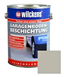 Garagen Bodenbeschichtung 2,5L Beton Boden Estrich Garage Farbe Beschichtung (Kieselgrau)