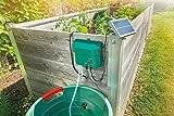 Solar Bewässerungssystem Waterdrops Komplettset Pflanzenbewässerung mit 15 Sprinklern Esotec...