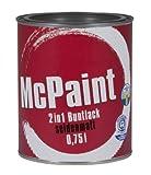 McPaint 2in1 Buntlack Grundierung und Lack in einem für Innen und Außen. PU verstärkt - speziell...