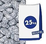 Granit-Gletscherkies Grau 25-40 mm 25 kg