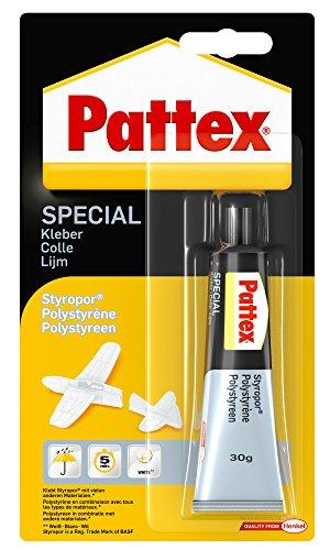 Pattex PXSS1 Spezialkleber Styropor, Tube mit 30 g