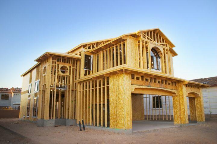 Ökologische Auswirkungen beim Bauen mit Holz
