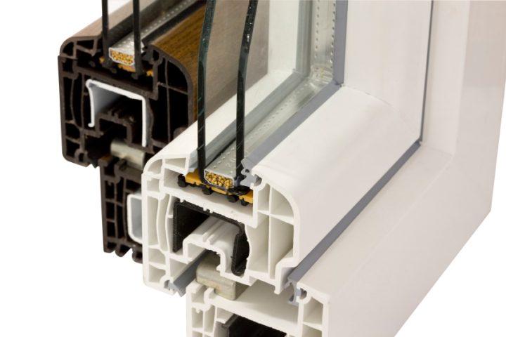 Abstandhalter beim Kunststofffenster Dämmwirkung