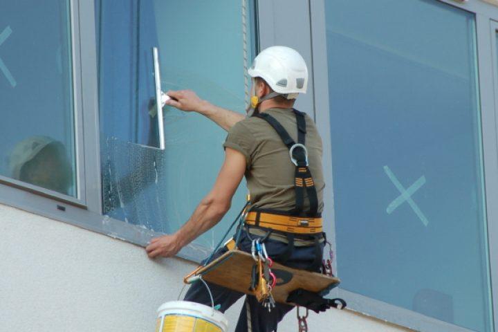 Absturzsicherung Fensterreinigung