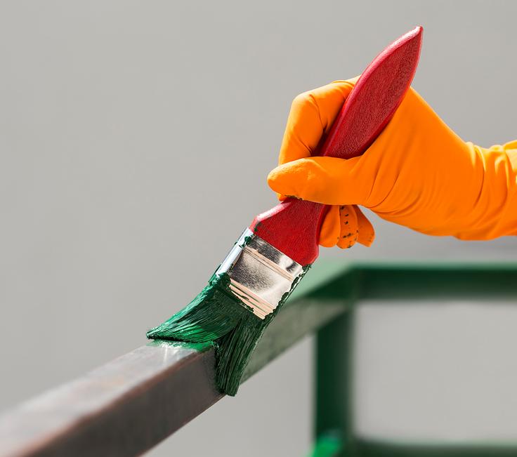Acrylfarbe Auf Metall So Verarbeiten Sie Sie Richtig
