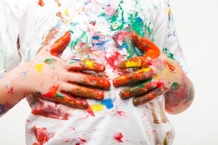 24 Wandfarbe Entfernen Kleidung