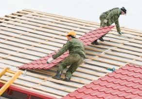 Dachziegel aus aluminium