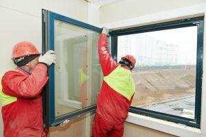 Alu Fenster einstellen