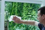 Alu Fenster reinigen