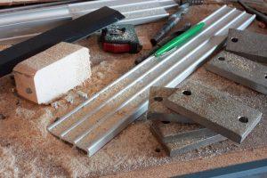 Aluminium sägen