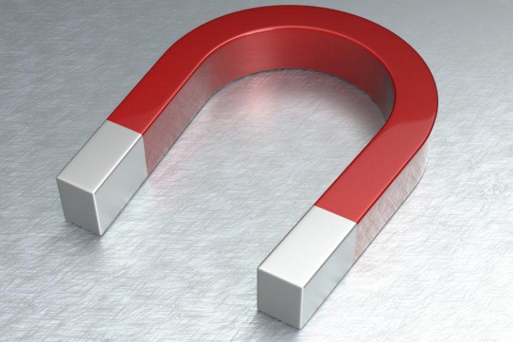 Aluminium magnetisieren