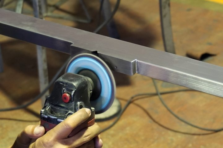 Aluminium schleifen