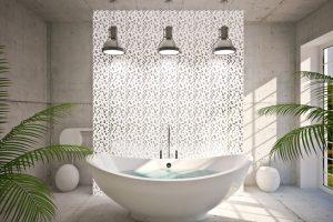Badezimmer Anhydritestrich
