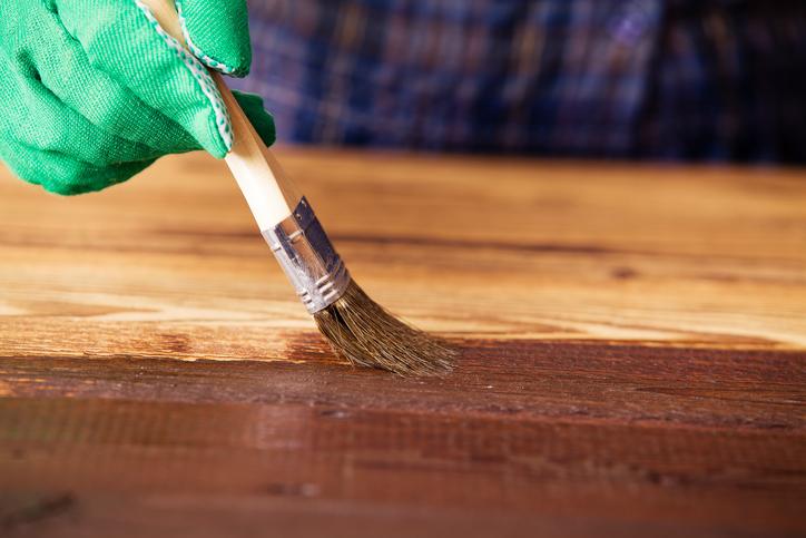Arbeitsplatte aus buche len anleitung in 3 schritten for Buche arbeitsplatte