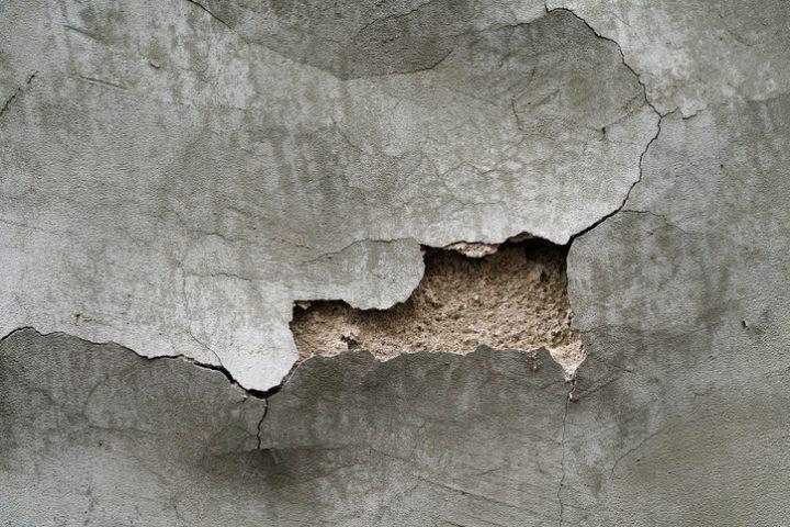 Armierungsgewebe auf alte Wand
