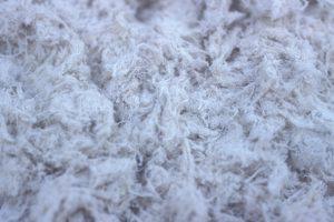 Asbest Dämmwolle