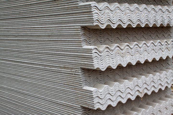 Asbest Dachplatten