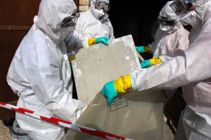 Asbest entfernen