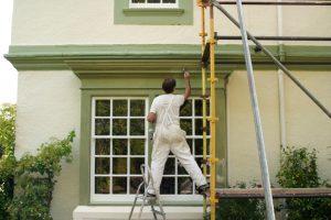 Außenfassade streichen Kosten