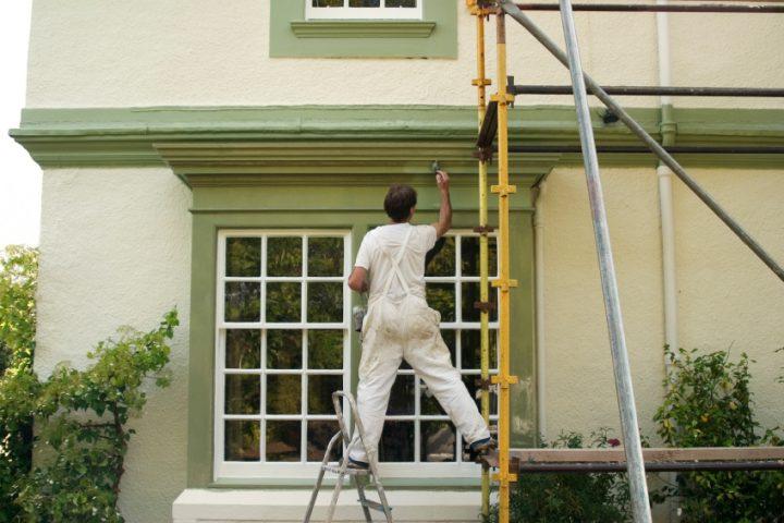 Häufig Haus streichen lassen » Die Kosten am konkreten Beispiel berechnet QD52