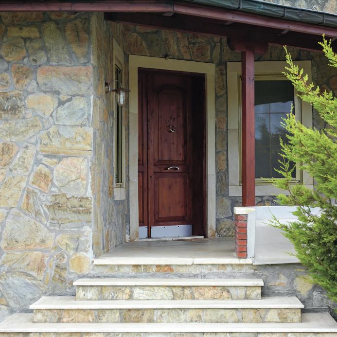 Außentreppe Für Den Hauseingang Material Maße