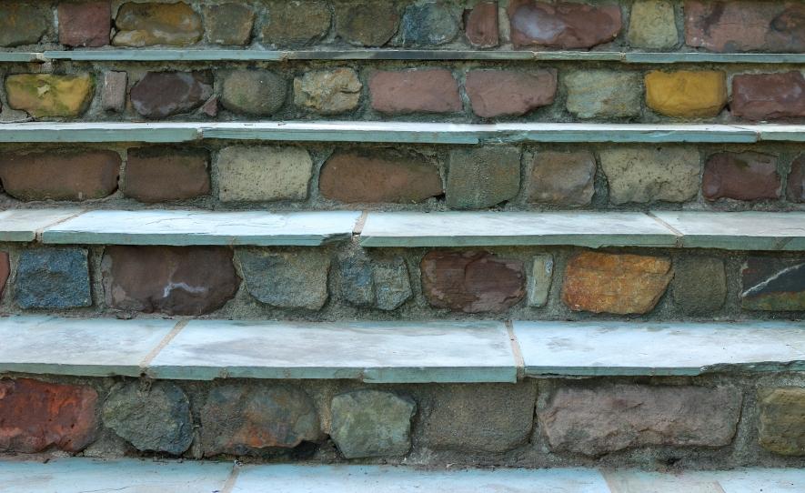 Gemauerte Treppen Außen außentreppe mauern » schritt für schritt anleitung