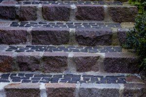 Außentreppe pflastern