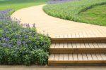 Außentreppe selber bauen Holz