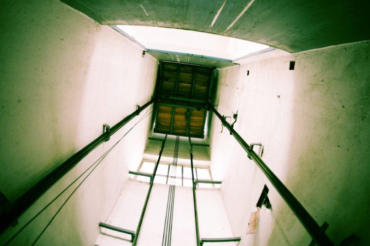 Aufzugsschacht Entlüftung
