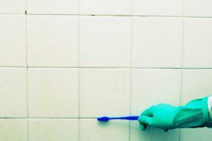 Ausblühungen Badezimmer