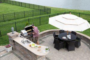 Outdoor-Küche Garten