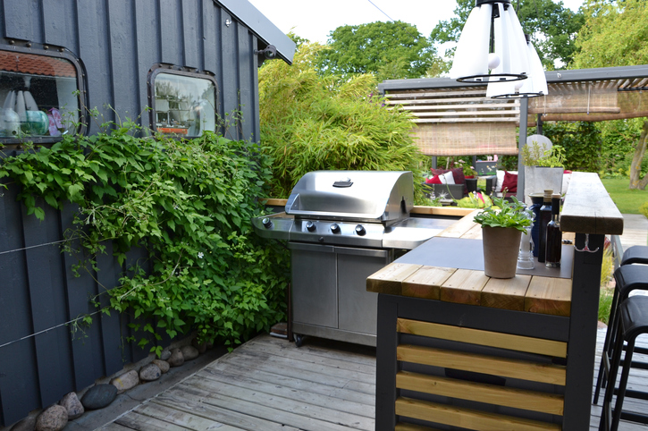 Outdoor Küche Im Wintergarten : Außenküche planen daran sollten sie denken