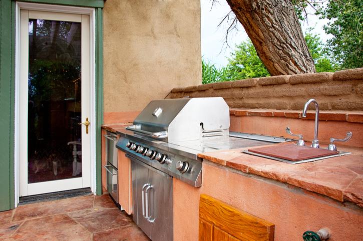 Outdoor Küche Holz Bauen : Außenküche selber bauen das ist zu beachten