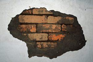 Aussenputz auf Ziegelmauerwerk