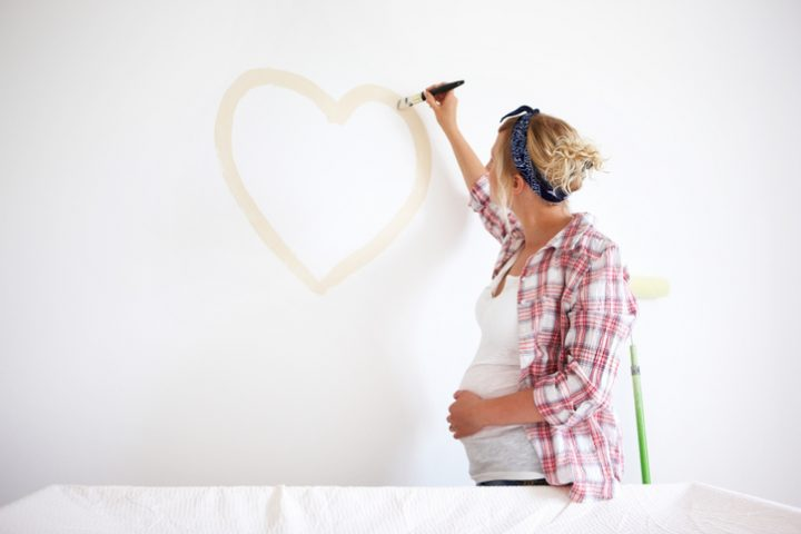 Babyzimmer » Welche Wandfarben kommen infrage?