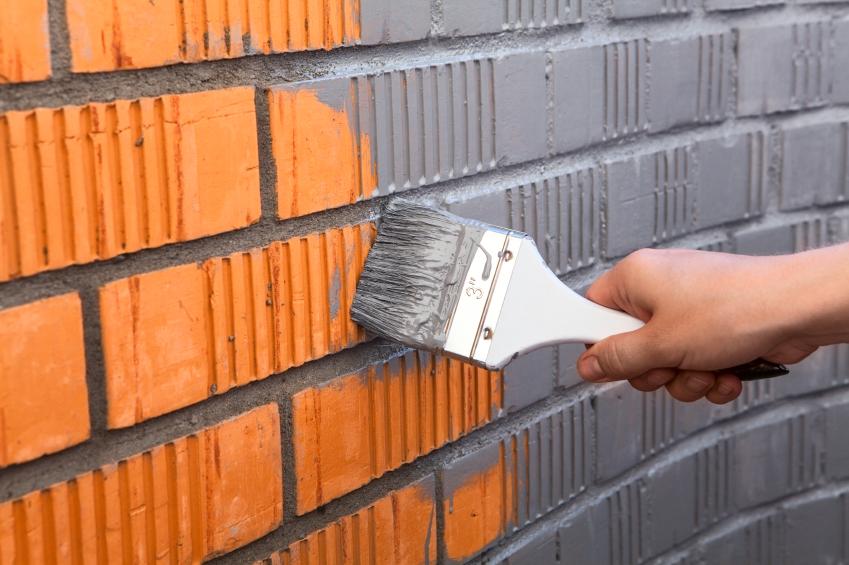 Wohnung Streichen Wer Zahlt : Backsteine streichen » Anleitung in 3 Schritten