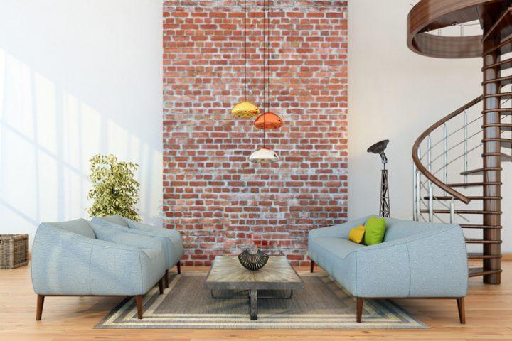 backsteinwand innen » schöne gestaltungsideen, Garten und erstellen