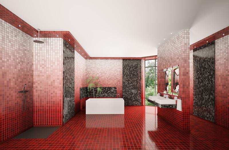 Preis Für Badfliesen Das Müssen Sie Ausgeben - Farbige fliesen badezimmer