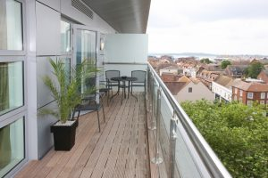 Balkon Holzboden