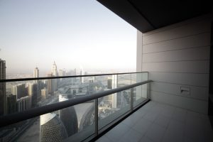 Balkon Regenrinne