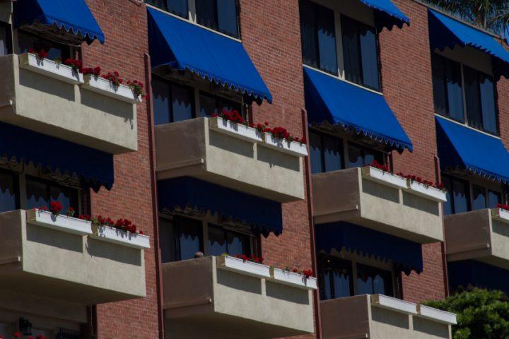 Balkon Schatten