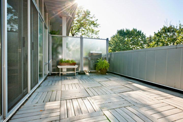Favorit Sichtschutz für den Balkon » Seitlich & ansprechend EO88