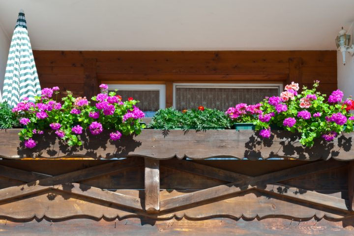 Balkon dekorieren