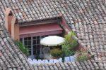 Balkon im Dach