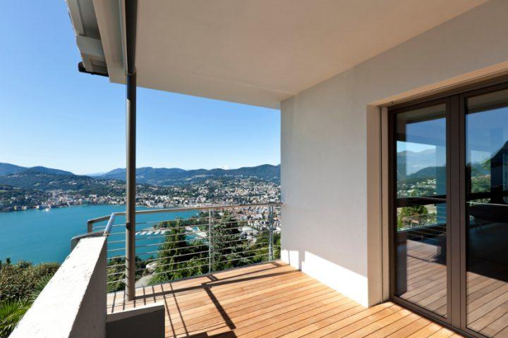 Balkon mauern