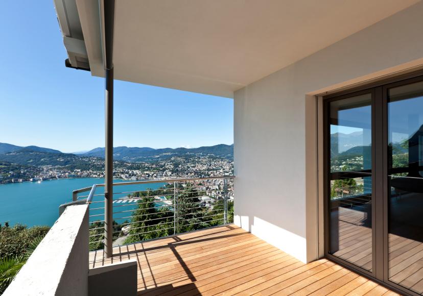 gemauerter balkon. Black Bedroom Furniture Sets. Home Design Ideas
